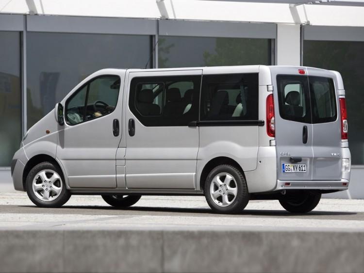 Groovy Opel Vivaro Turbo Diesel MAXI MINI BUS 9 SEATS Automatic RJ65