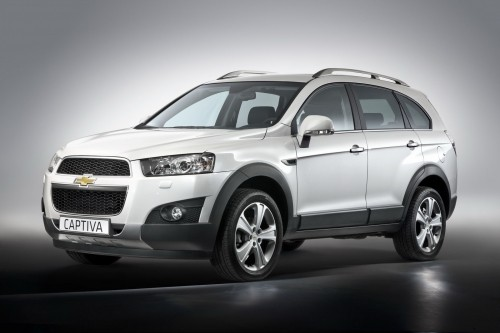 CHEVROLET CAPTIVA SUV DIESEL AUTOMATIC 4WD 7 SEATS